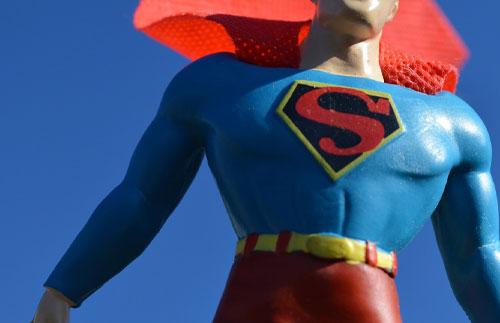 Superman Spielfigur